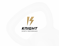 KNIGHT SPORTS PERFORMANCE Logo and Branding