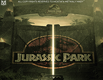 "New Poster For "" jurssic park "" Film"
