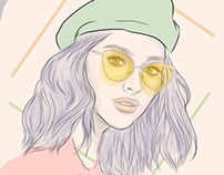Sunnies Studios Fan Art (Liza Soberano)