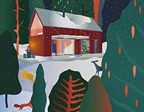 XMAS ILLUSTRATION / in collaboration with Perspektiv
