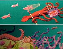 Deep Sea Diorama