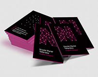 Business Card | Nicole Myriel Tofaridou
