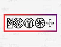 100 Geometric Logos Project