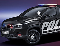 2020 Fiat Strada Freedom Police Interceptor