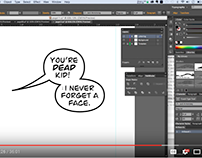Comic Book Creation and Production - Tutorial Video