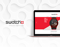 Swatch | PC website redesign