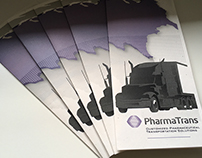 PharmaTrans - Tri-fold Brochure