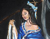 MIKEY ESPINOSA - 4 BEAUTIES OF CHINA - Xi Shi