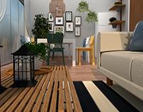 Cozy Balcony ~ Interior Design