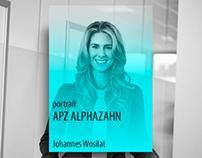 Portraitshooting APZ Alphazahn