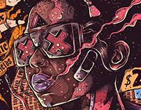 Poster PANE, by Kin Noise /Trampa Studio