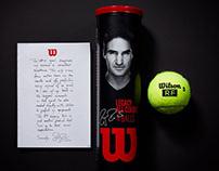 Roger Federer - Wilson Tennis Campaign