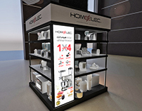 Homeelec Stand Display