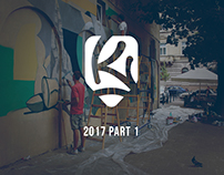 Веst walls 2017 Part 1. Kickit art studio