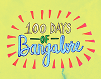 100 Days of Bangalore - An Illustrated Journey