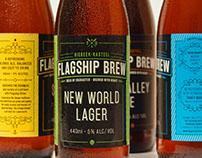 Flagship Brew Brand Identity