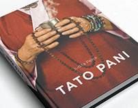 Book cover design for the novel Tato Pani