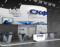 SKF exhibition stand
