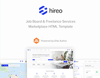 Hireo - Job Board & Freelance Services Marketplace HTML