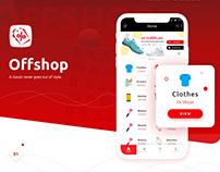 OffShop App UI-UX Design