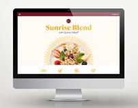 Sunrise Blend Website