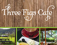 Three Figs Cafe and Greenbird Gallery - DL flyer