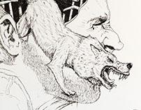 Wrath Illustration