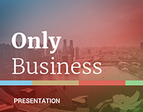 Only Business Powerpoint Template