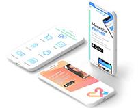 Instango app website