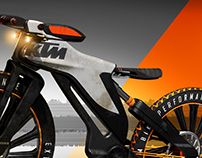 KTM Downhill Bike