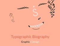 Typographic Biography | Graphic Design