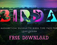 Birda Free Fonts