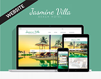 Jasmine Villa - Website