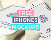 Free iPhone5 Mockups