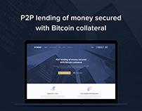 Blockchain P2P lending service