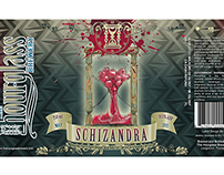 SCHIZANDRA Bottle Label Design