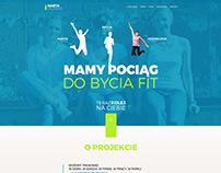 Fitness trainers website / Trenerki Fitness