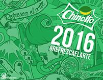 Chinotto #refrescaelarte2016 PROJECT