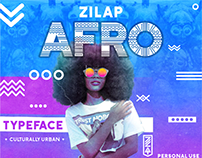ZILAP AFRO TYPEFACE
