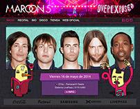 Maroon 5 · Web