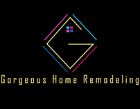 Gorgeous home remodeling logo