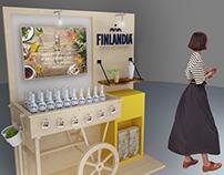 Finlandia display spring