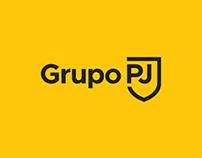 Grupo PJ - Logo & Identidade Visual