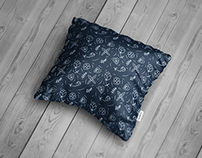 Square Pillow Mock-Up