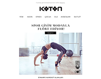 email design for koton.com