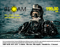 'Becam diver' photoshooting Behind the Scenes