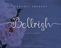Free Bellrish Script Font