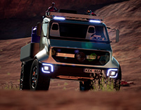 Mercedes-BENZ EQ_UNIMOG | New renders