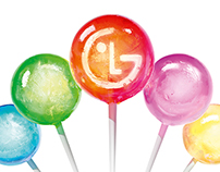 "LG ""Lollipops"" // 3D // CGI"