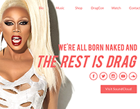 RuPaul One Pager Redesign